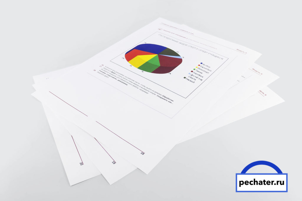 печать документов на тургеневской