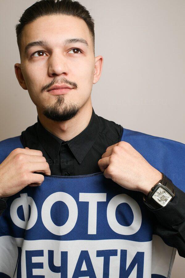 Заказать промо-накидки для промоутеров в Москве