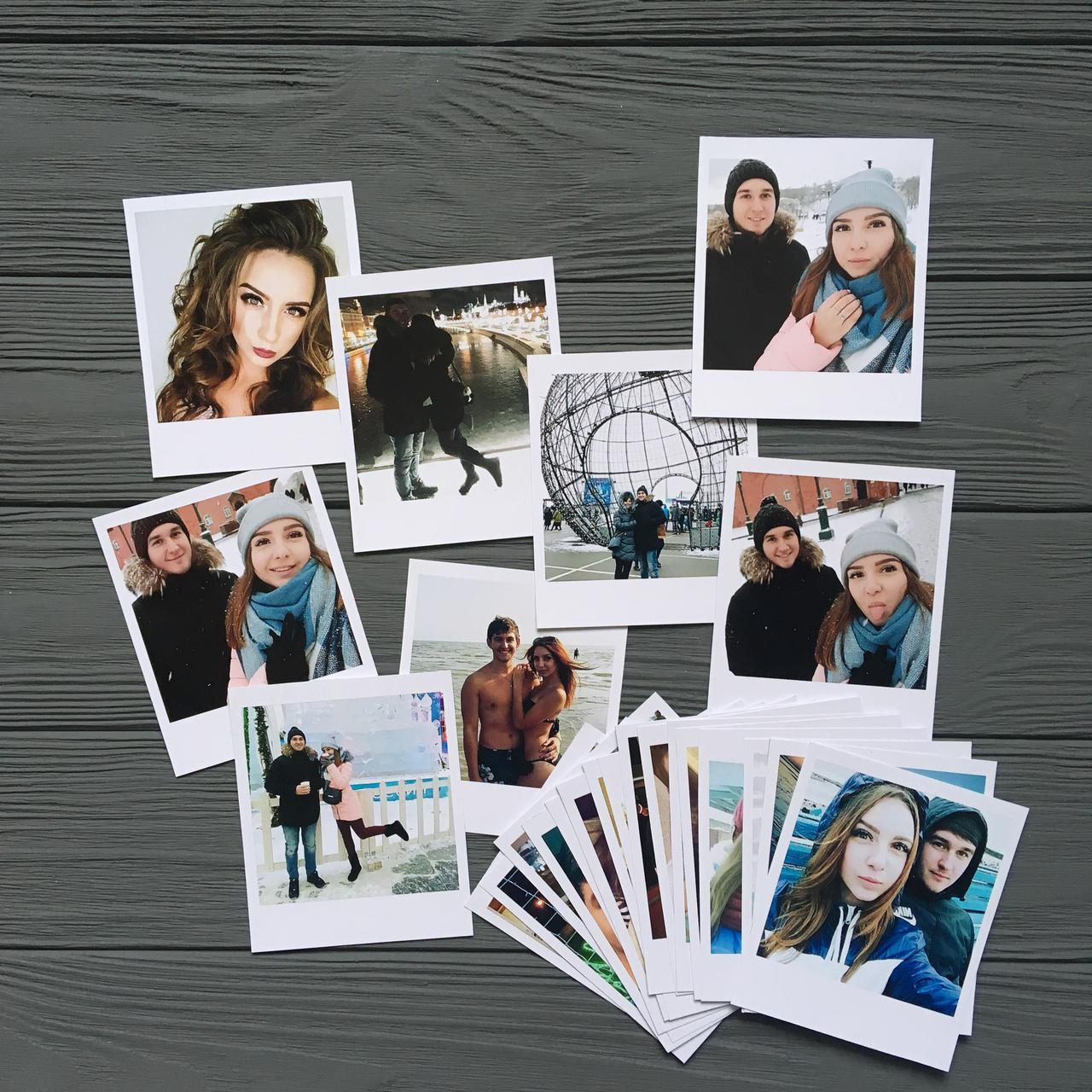 Печать фотографий с белыми полями условием остается