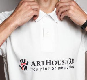 футболка поло заказать с рисунком, тургеневская