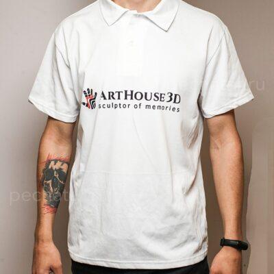 футболка поло с логотипом заказать чистые пруды
