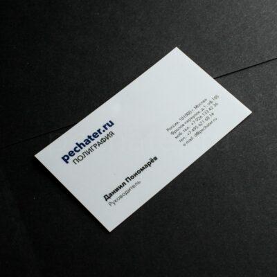 Пластиковые визиткиТургеневская Москва быстро