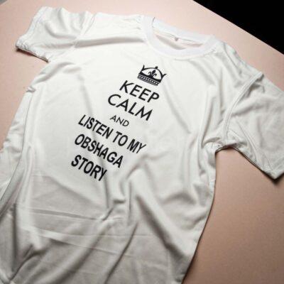 Быстрая печать на футболке