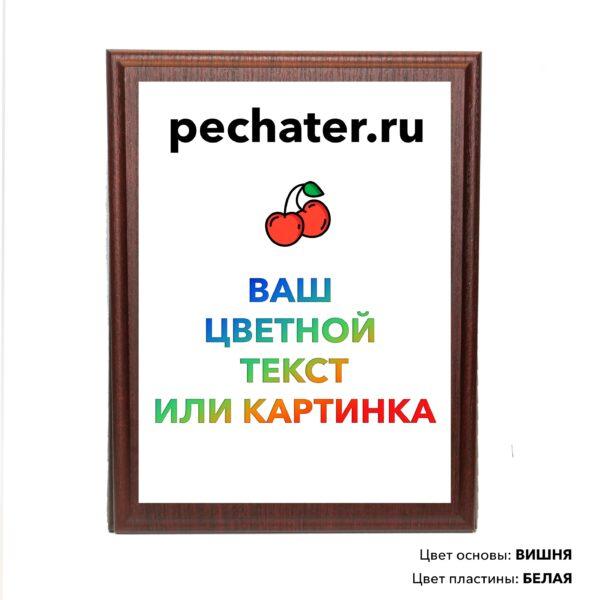 Плакетка с доставкой по Москве